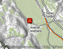 Map: Freibad Andrian / Piscina di Andriano