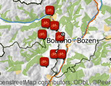 Mappa: Bici e mountain bike