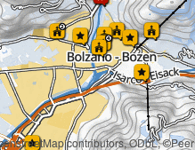 Map: City of Bolzano