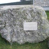 Ein Stein, 50 Mio. Jahre alt