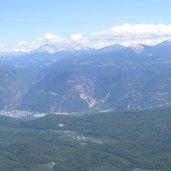 Die Dolomiten auf Südtiroler Seite