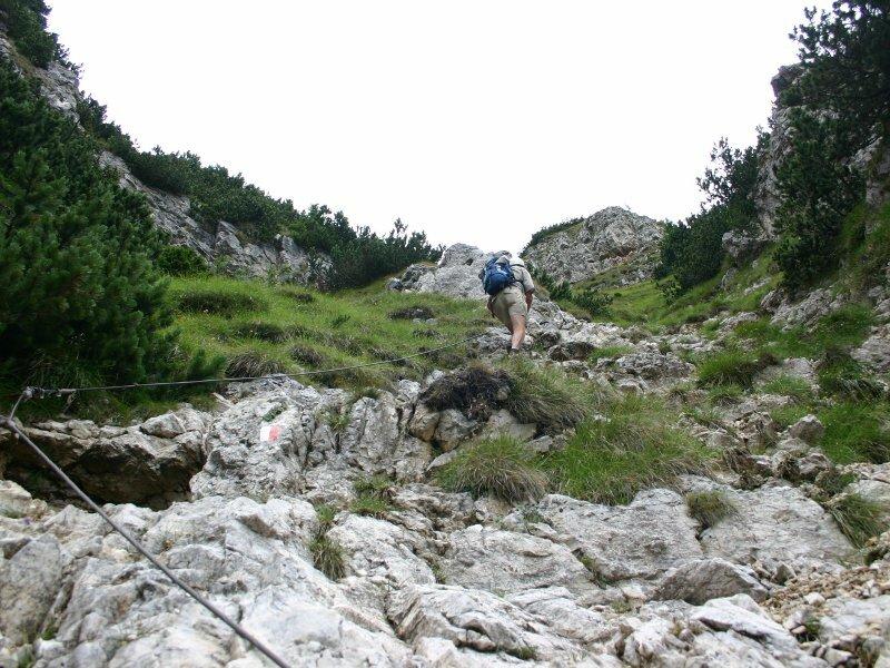 Klettersteig Roen : Wanderung vom mendelpass über den klettersteig auf roen eppan