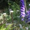 Die Mendelhäuschen auf der Mendel dienen der Sommerfrische und werden entsprechend liebevoll dekoriert. Foto: RD, © Peer