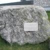 Ein Stein, 50 Mio. Jahre alt, steht neben dem Hotel auf dem Monte Penegal. Foto: RD, © Peer