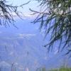 Auf gleicher Höhe mit Deutschnofen. Faszinierende Aussichten auf dem Penegal. Foto: RD, © Peer