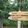 The trails are well-marked and facilitate directions and orientation. Foto: ED, © Peer