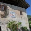 There are several historic buildings in Riva di Sotto. One of them is the ancient residence Hungerhausen. Foto: AT, © Peer
