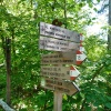 The trail number 16 takes round the lake and to the little lake of Monticolo. Foto: AT, © Peer