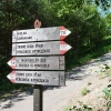 The trails in the forest of Monticolo are well-signposted. Foto: AT, © Peer
