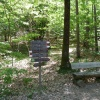 Seating accommodations along the trail, if you need to catch a breath. Foto: AT, © Peer