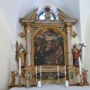The beautiful altar of the small but mighty church. Foto: AT, © Peer
