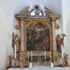 Il bell'altare all'interno della chiesa. Foto: AT, © Peer