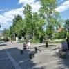 Der weitläufige Weber-Tyrol-Platz. Foto: AT, © Peer