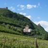 """Auf dem Weg sehen wir auch die """"Drei Burgen"""": Korb, Boymont und Hocheppan. Foto: AT, © Peer"""