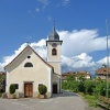 Das Kirchlein von Schreckbichl liegt ca. 1 km vom Girlaner Ortskern entfernt, ideal für einen Spaziergang zwischen Obstwiesen und Weingärten. Foto: AT, © Peer