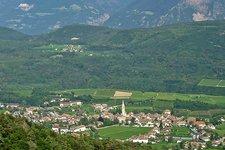 Kaltern Dorf Caldaro paese