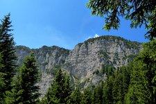 Wanderung vom Mendelpass über den Klettersteig 2011