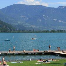Nuotare al Lago di Caldaro