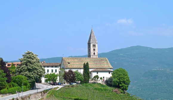 Kurtatsch Dorf Cortaccia Paese
