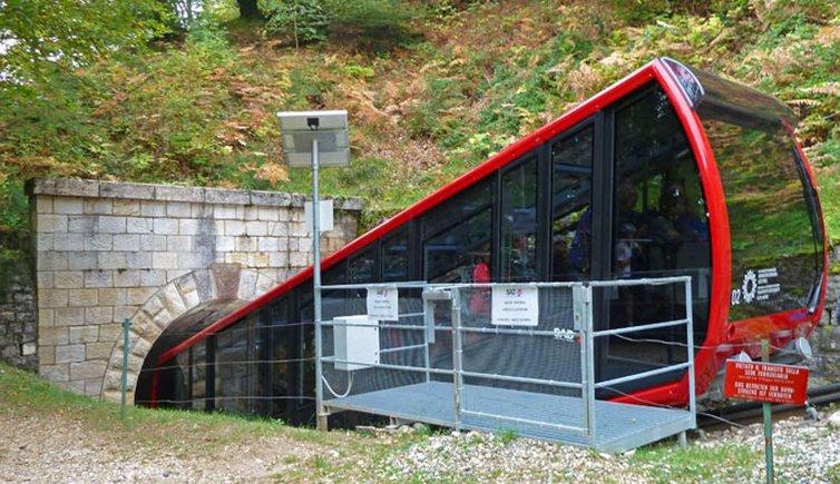 Mendelbahn, Foto: AT, © Peer