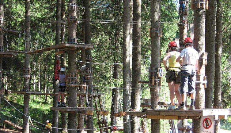 Abenteuerpark in Kaltern, Foto: BS, © Peer