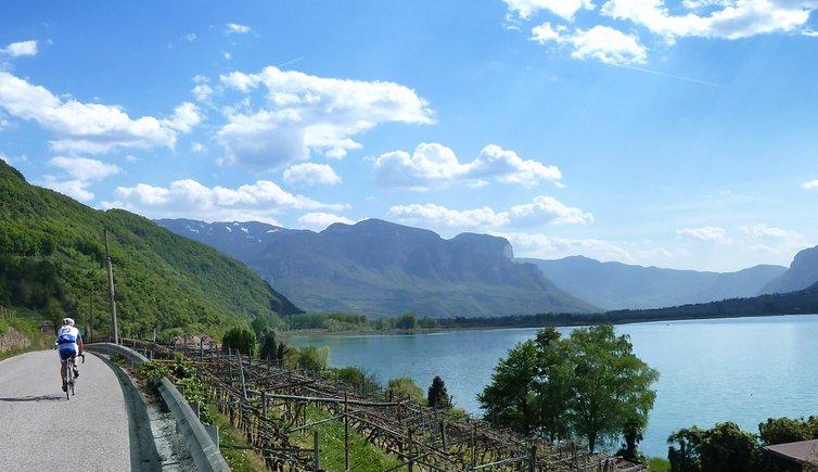 Radweg von Eppan zum Kalterer See, Foto: AT, © Peer