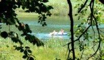 Schwimmen in den Montiggler Seen 2011