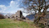 Castelfeder byzantinische Burg Reste Auer Ora 2011
