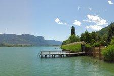 Lago di Caldaro a fine maggio